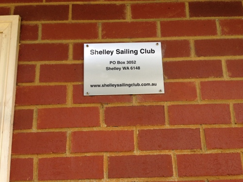 New Club Plaque has been fitted